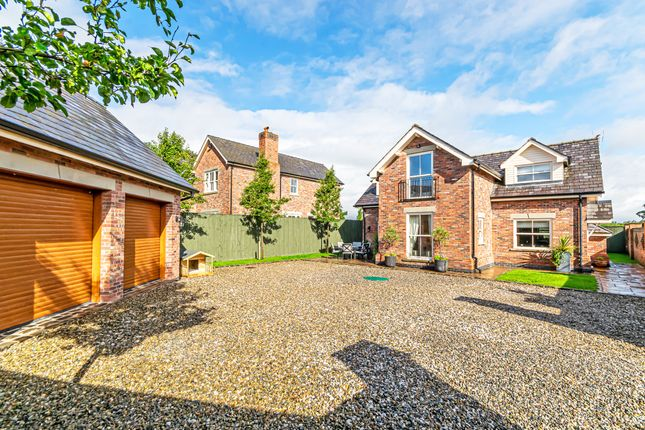 Thumbnail Detached house for sale in Northwich Road, Lower Whitley, Cheshire