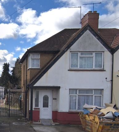 Thumbnail Semi-detached house to rent in Crowland Avenue, Hayes