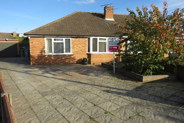 Thumbnail Semi-detached bungalow for sale in Varvel Close, Sprowston, Norwich