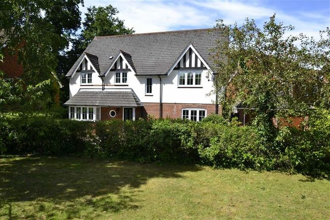 Thumbnail Detached house for sale in Woolton Lodge Gardens, Woolton Hill, Berkshire