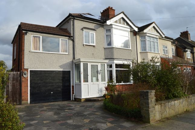 Semi-detached house for sale in Rosslyn Avenue, Harold Wood, Romford