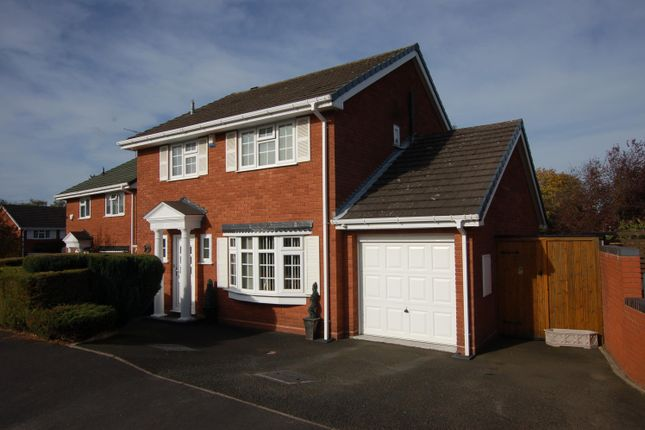 Thumbnail Detached house for sale in Wharfedale Close, Wall Heath