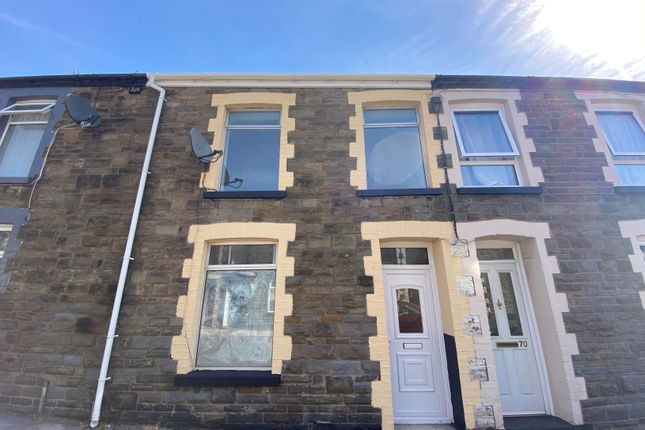 3 bed terraced house to rent in Margaret Street, Treherbert, Treorchy CF42