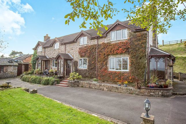 Thumbnail Detached house for sale in Congleton Road, Mow Cop, Stoke-On-Trent