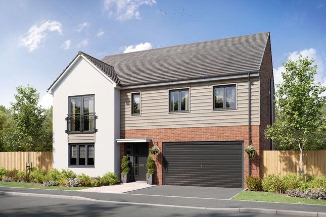 """Thumbnail Detached house for sale in """"The Broadhaven"""" at Ringlet Drive, Newcastle Upon Tyne"""