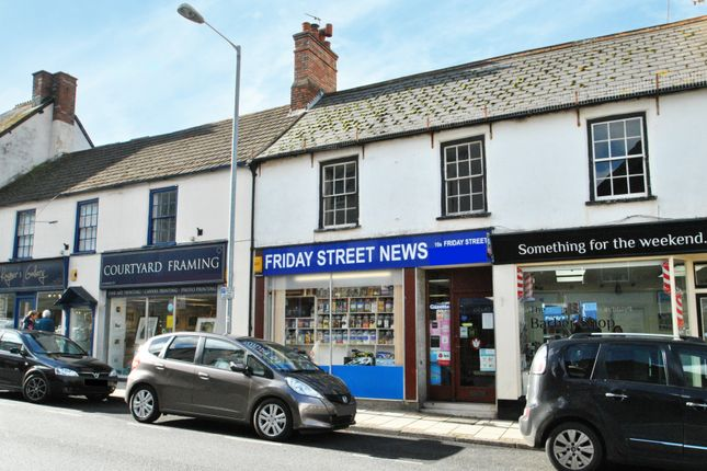 Retail premises for sale in Friday Street, Minehead, Somerset