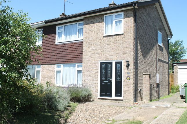Thumbnail Semi-detached house for sale in Waveney Heights, Brockdish, Diss