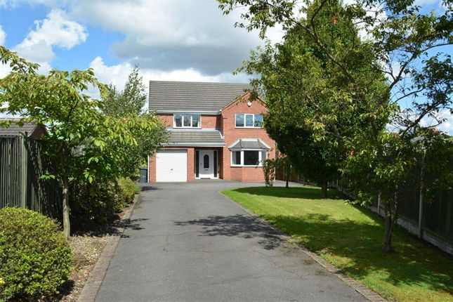 Thumbnail Detached house for sale in Williamthorpe Close, North Wingfield, Chesterfield