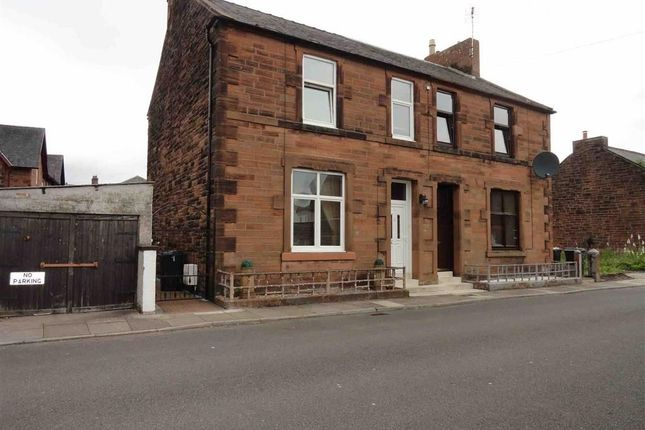 Semi-detached house for sale in Bellevue Street, Dumfries