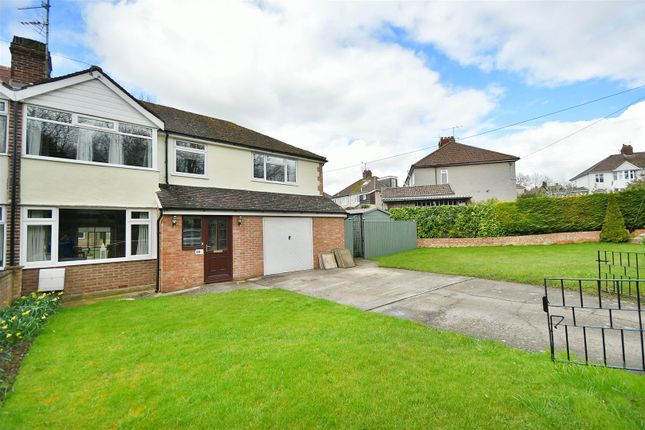 Thumbnail Semi-detached house for sale in Langley Road, Chippenham