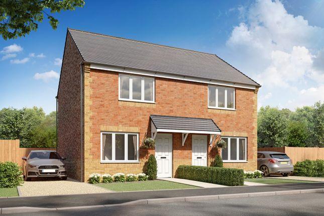 2 bed semi-detached house for sale in Plot 81, Cork, Briar Lea Park, Longtown, Carlisle CA6