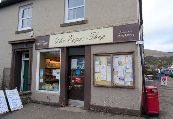 Retail premises for sale in Bridge Street, Dollar, Clackmannanshire