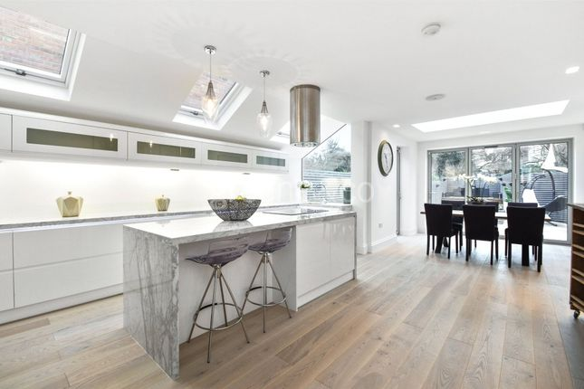 Thumbnail End terrace house to rent in Keslake Road, London