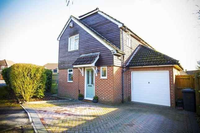 Thumbnail Detached house to rent in Chaldon Green, Lychpit, Basingstoke