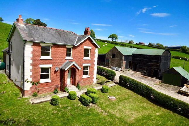 Thumbnail Farm for sale in Bryntawel, Llanfair Caereinion, Welshpool, Powys