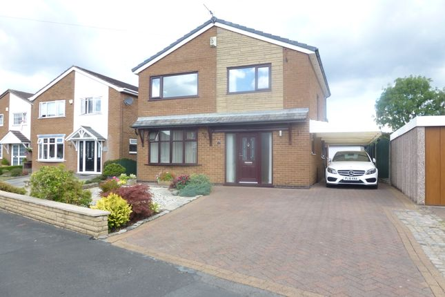 Thumbnail Detached house for sale in Poulton Crescent, Hoghton