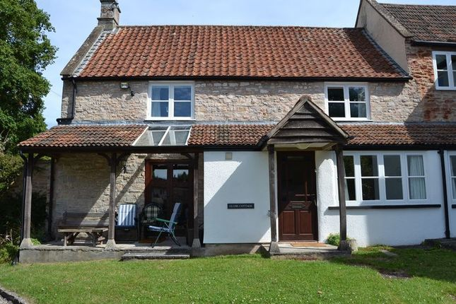 Thumbnail Cottage to rent in Vicarage Lane, Wookey, Wells