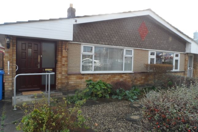 Thumbnail Semi-detached bungalow to rent in Graham Drive, Rhyl