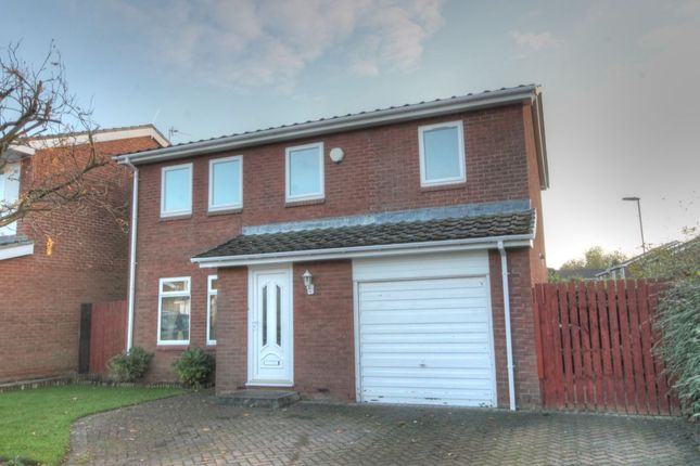 Thumbnail Detached house for sale in Nuneaton Way, North Walbottle, Newcastle Upon Tyne