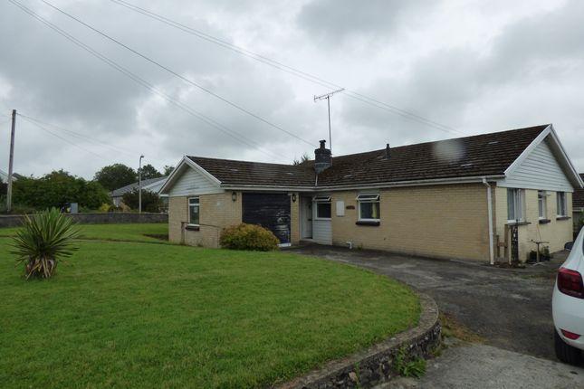 Thumbnail Bungalow for sale in Nant Yr Ynys, Llanpumpsaint, Carmarthenshire