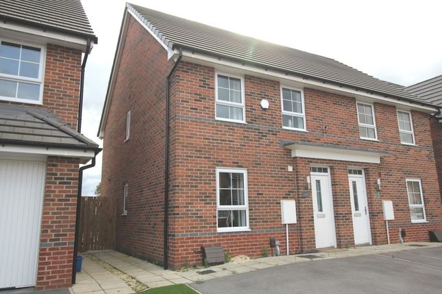 Thumbnail Semi-detached house for sale in Popular Mews, Doncaster