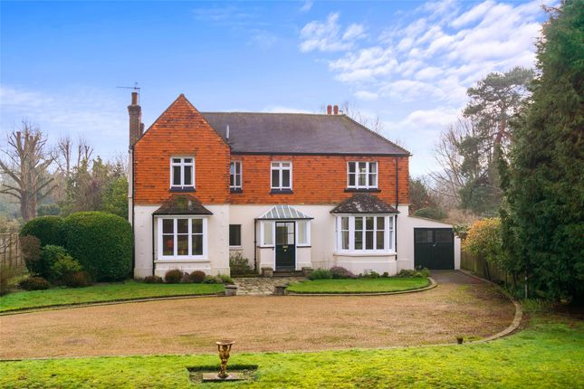 Thumbnail 4 bed detached house to rent in Flanchford Road, Reigate, Surrey