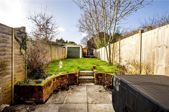 Garden of Brinns Cottages, Green Lane, Frogmore GU17