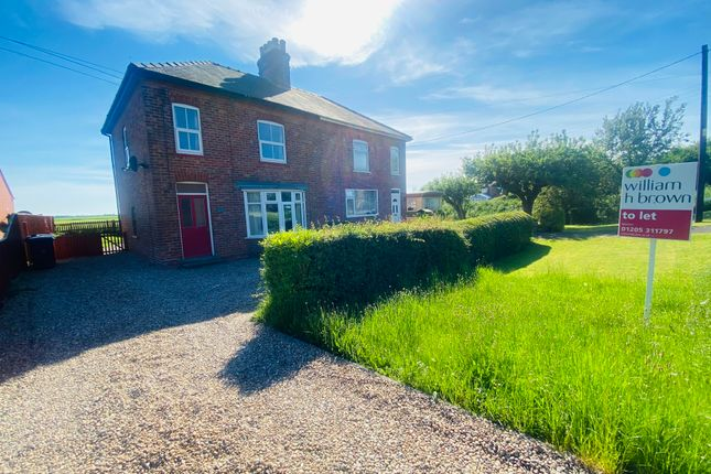 3 bed property to rent in West Fen Drainside, Frithville, Boston PE22