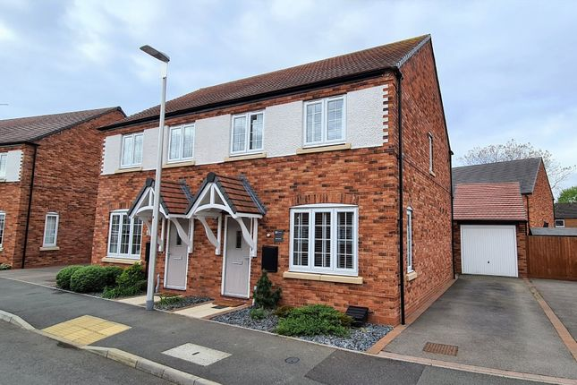 3 bed semi-detached house for sale in Ardene De Gray Road, Wolston, Coventry CV8
