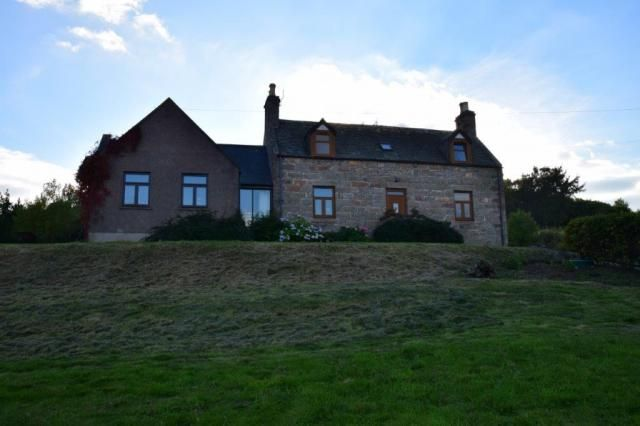 Thumbnail Detached house for sale in Upper Lyne Of Ruthrie, Edinvillie, Aberlour