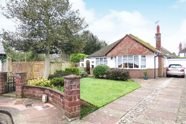 Thumbnail Detached bungalow for sale in Hall Close, Broadwater, Worthing