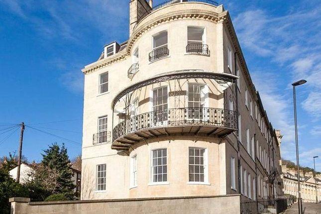 Thumbnail Flat to rent in Camden Crescent, Bath, Avon