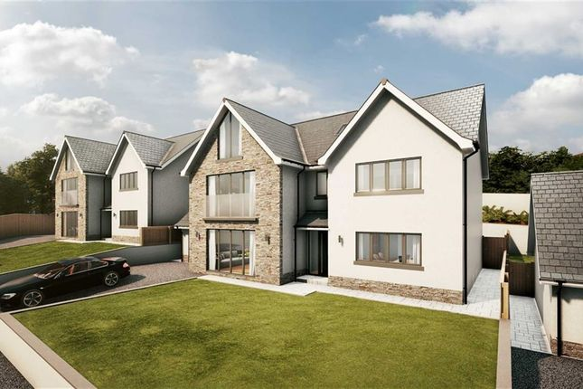 Thumbnail Detached house for sale in Bayview Court, Tycoch, Swansea, Swansea