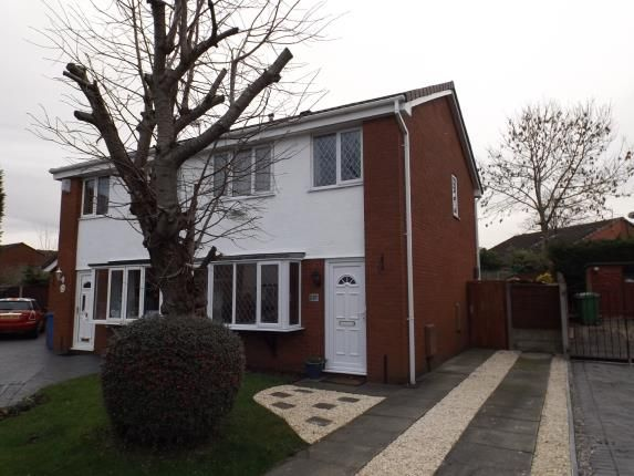 Thumbnail Semi-detached house for sale in Montrose Close, Fearnhead, Warrington, Cheshire