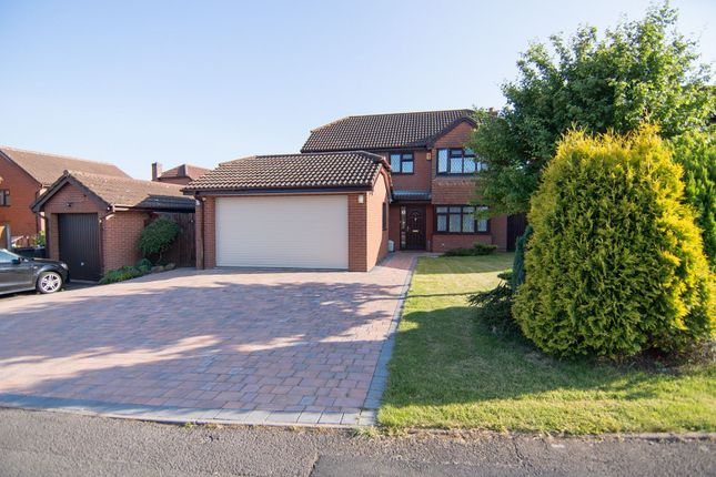 Thumbnail Detached house for sale in Clowes Drive, Telford