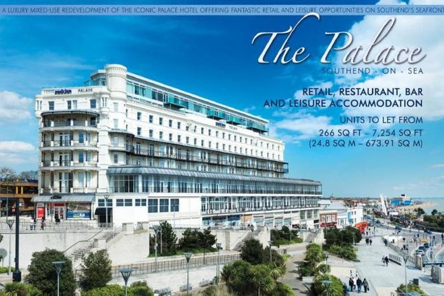 Thumbnail Retail premises to let in Pier Hill, The Palace, Southend On Sea, Essex