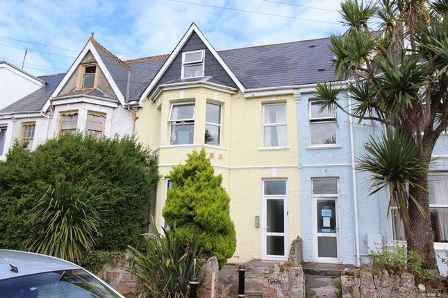Thumbnail Terraced house for sale in Mount Wise, Newquay