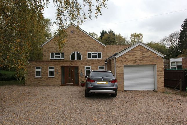 Thumbnail Detached house for sale in Southmeads Close, Oadby, Leicestershire