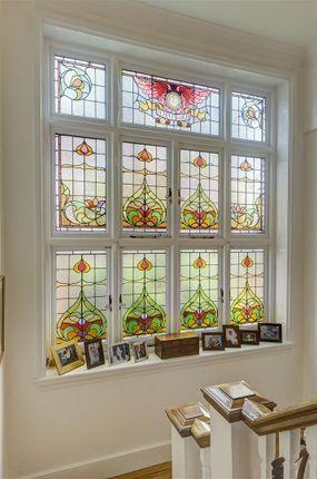 Window of Ferncroft Avenue, Hampstead NW3