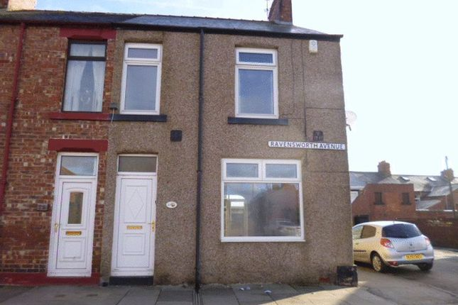 Thumbnail End terrace house to rent in Ravensworth Avenue, Bishop Auckland