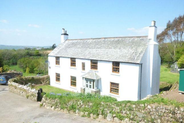 Thumbnail Farmhouse for sale in Bere Alston, Yelverton