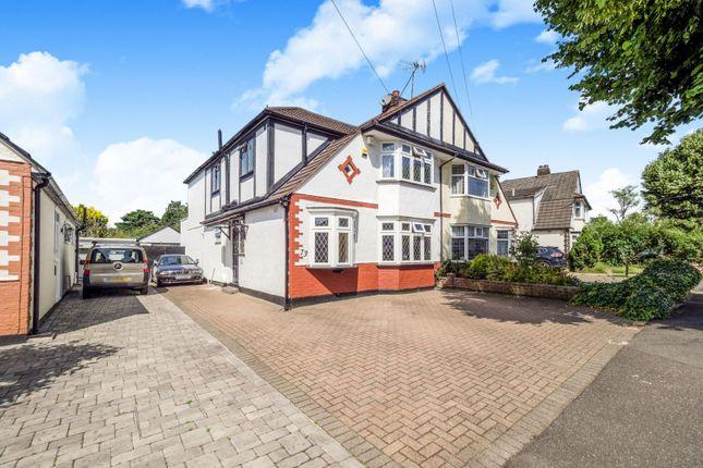 Thumbnail Semi-detached house for sale in Mashiters Walk, Romford