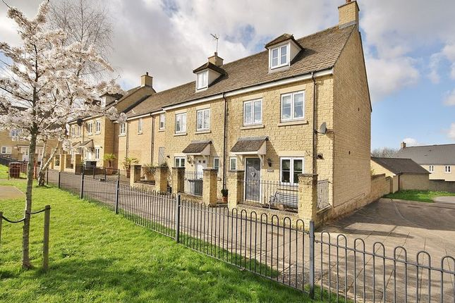 Thumbnail End terrace house for sale in Park View Road, Madley Park, Witney