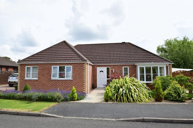 Thumbnail Detached bungalow for sale in Manor Park, Legbourne, Louth