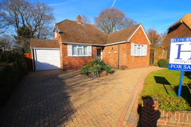 Thumbnail Detached bungalow for sale in Milden Gardens, Frimley Green, Camberley
