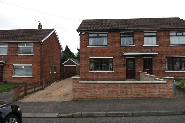 Thumbnail Semi-detached house to rent in Willisfield Gardens, Belfast