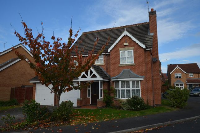 Thumbnail Detached house for sale in Copse Grove, Littleover, Derby