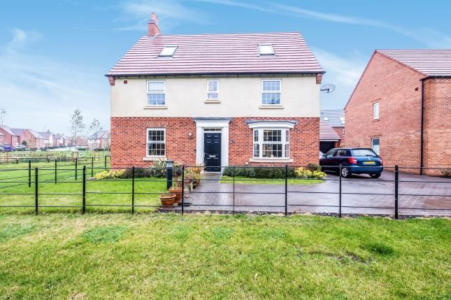 Thumbnail Detached house for sale in Moleyns Close, Ashby-De-La-Zouch, Leicestershire