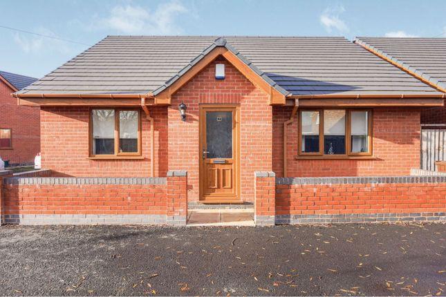 Thumbnail Detached bungalow for sale in Emerald Close, Bilston