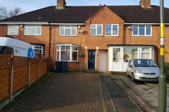 Thumbnail Terraced house to rent in Fir Grove, Kings Heath, Birmingham